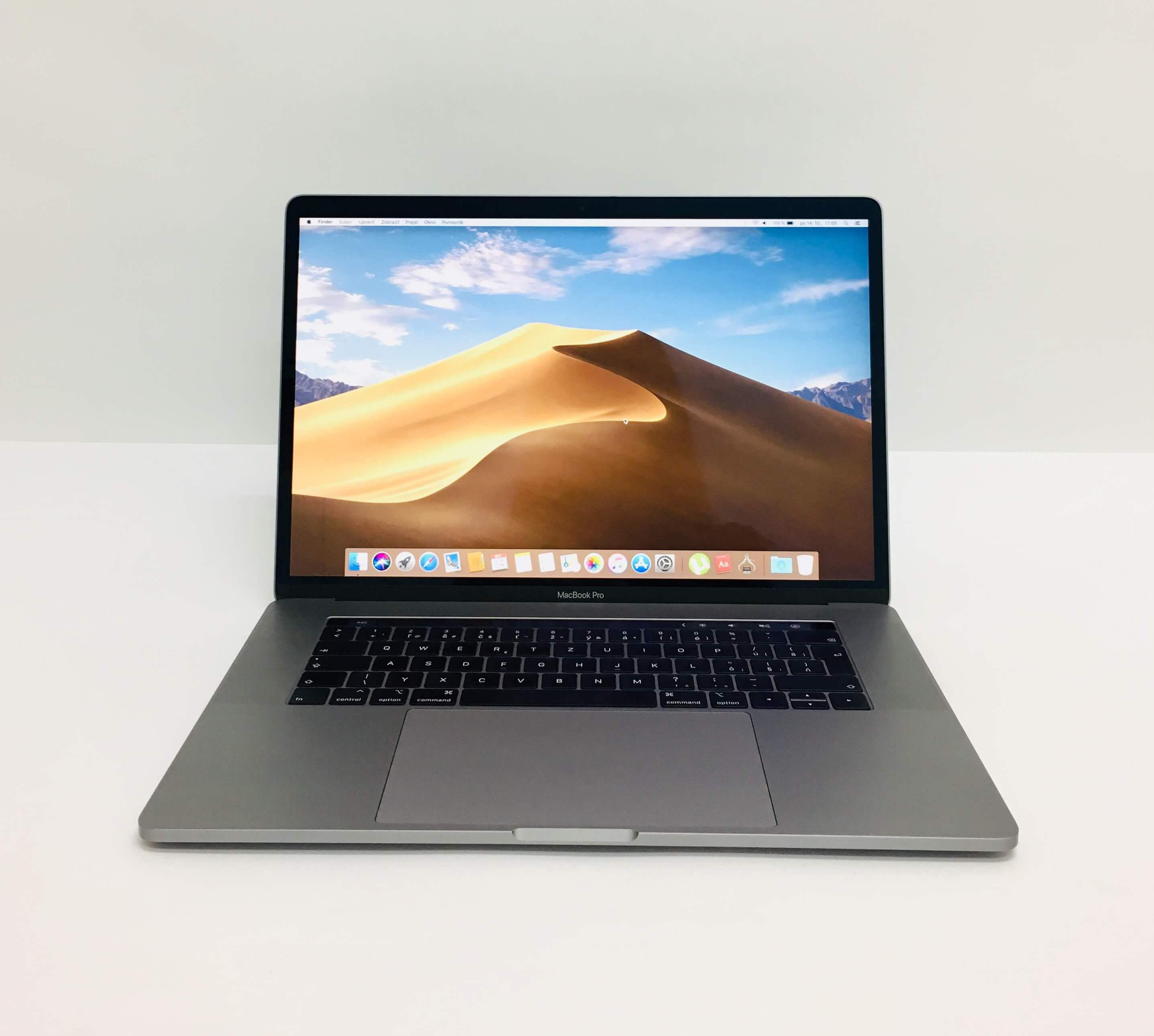 Macbook Pro 15'' Touch Bar, Space Gray, i7, rok 2018, 16GB RAM, 512GB SSD