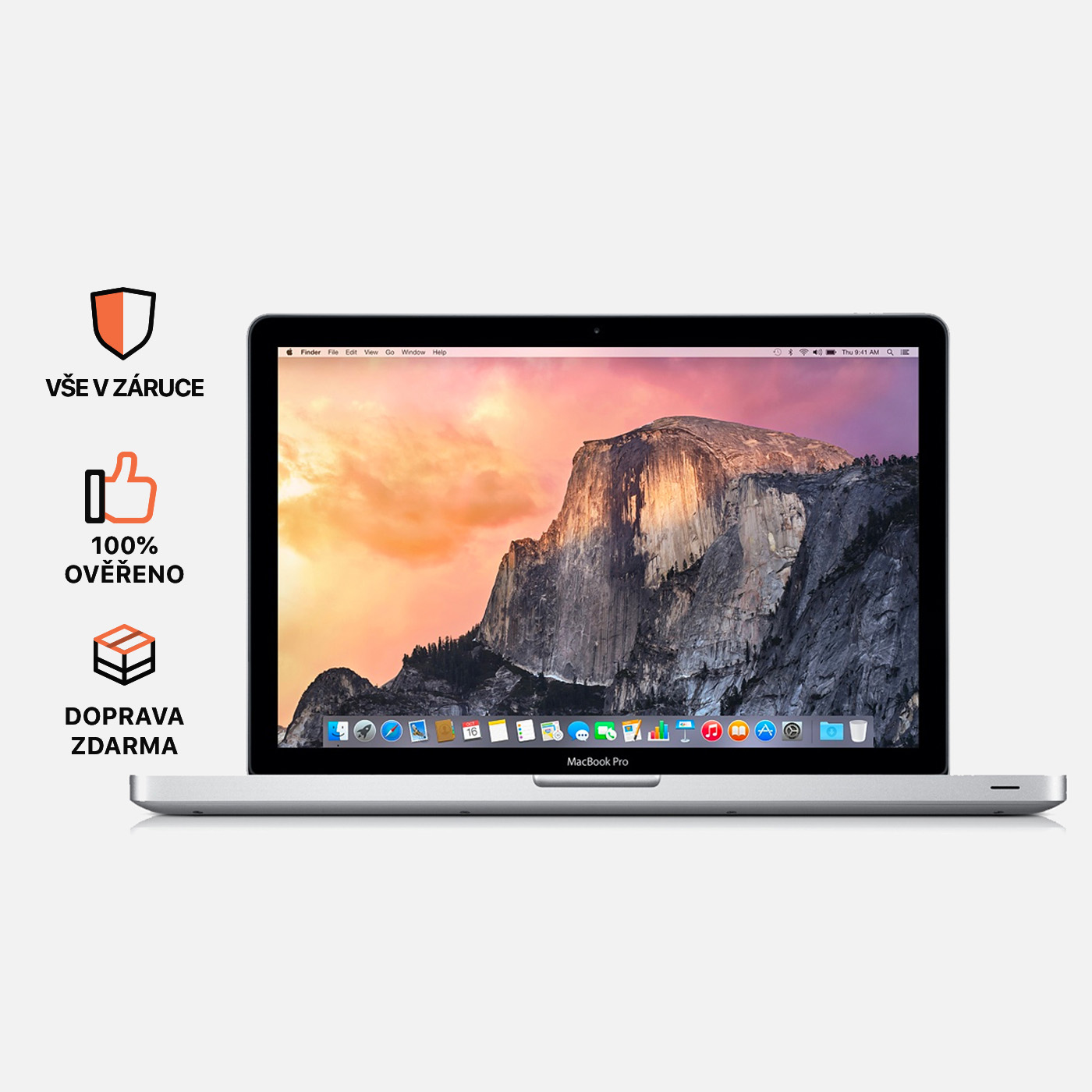 MacBook Pro 15, i7, rok 2011, 4GB RAM, SSD: 512GB
