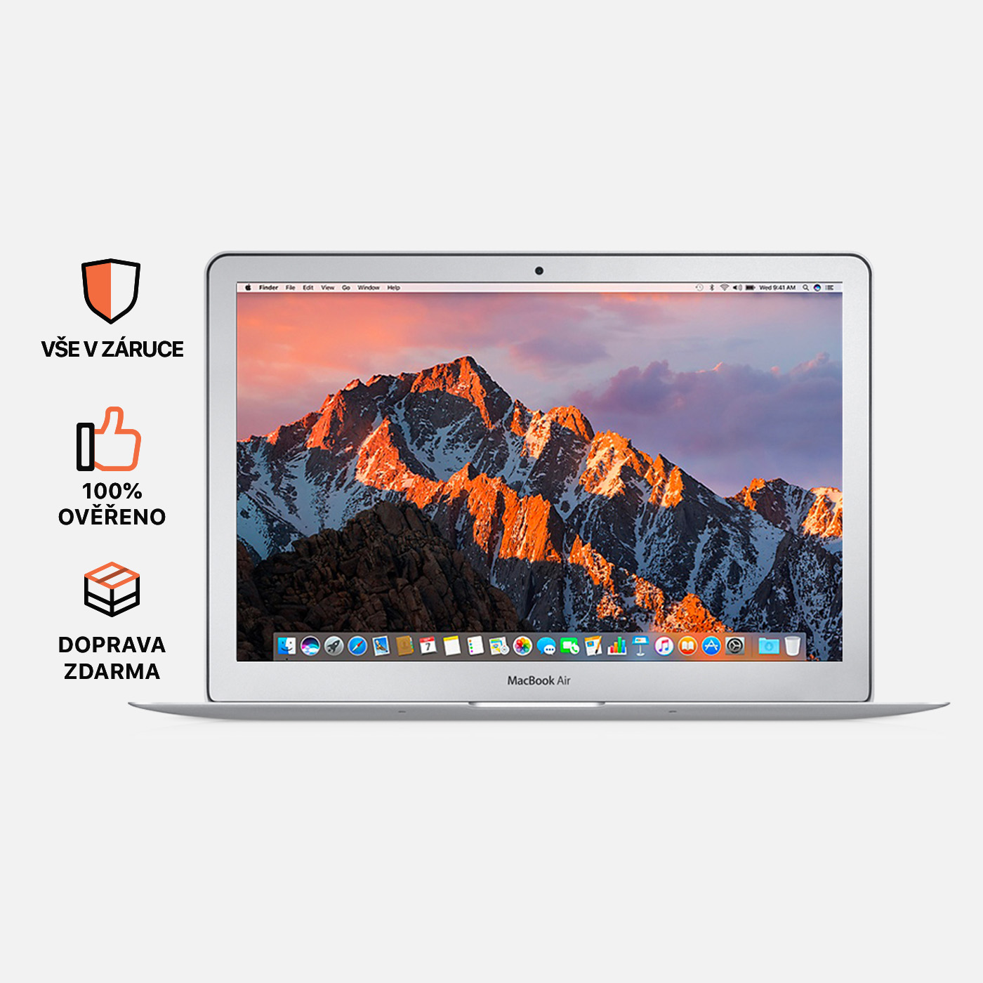 Macbook Air 13'', i5, rok 2013, 8GB RAM, 256GB SSD