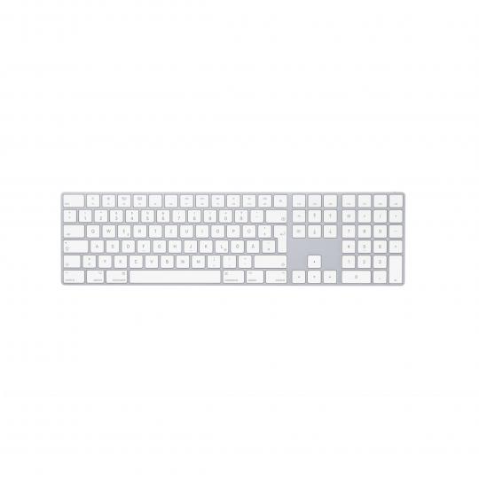 Magic Keyboard s číselnou klávesnicí – německá