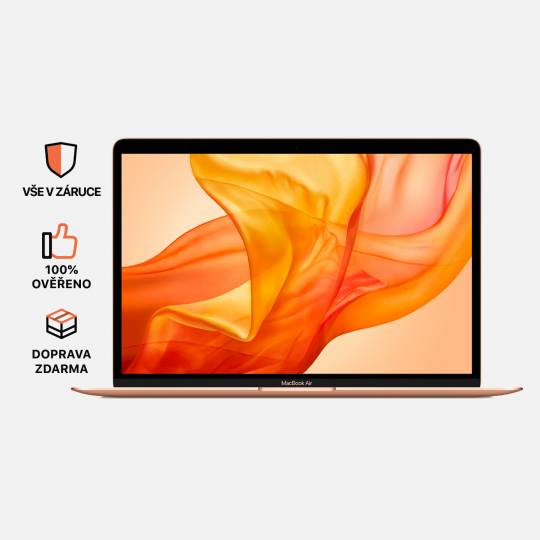 MacBook Air 13'' Retina, Gold, i5, rok 2018, 8GB RAM, 128GB SSD