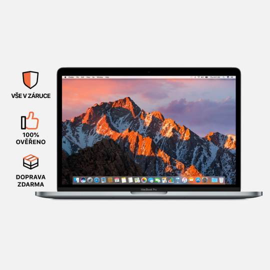 MacBook Pro 13'', Space Gray, i5, rok 2017, 8GB RAM, 128GB SSD