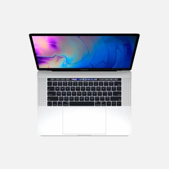 MacBook Pro 15'' Retina Touch Bar, Silver, i7, rok 2017, 16GB RAM, 256GB SSD
